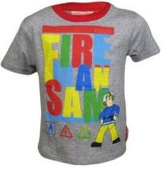 FIREMAN SAM ~ Grey T-Shirt