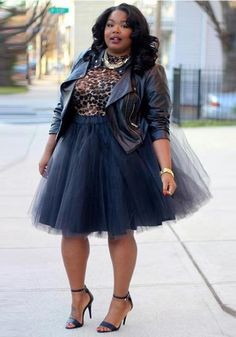 9a404c94b12 Black Grenadine Plus Size High Waisted Tutu Fluffy Tulle Party Skirt. Plus  Size Birthday OutfitsMidi ...