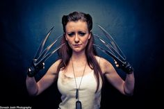 Cosplay of the Week: This Rule 63 Wolverine Has Gotten Under Our SNIKT