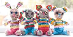 How to crochet safe baby toys - knitting for babies and toddlers