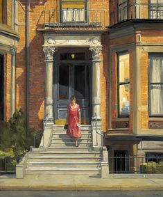"Sally Storch……LOOKS LIKE WHAT WE USED TO CALL---A BOARDING HOUSE---  A BIG HOUSE W/ROOMS TURNED INTO SMALL RESIDENCES WHERE ONE - OR A MARRIED COUPLE - LIVED……SOMETIMES, MEALS WERE SERVED IN A BIG DINING ROOM……ALWAYS SEEMED LIKE A ""SAD"" EXISTENCE…..LATER, PPL GOT APARTMENTS……THIS LADY IS FROM A SMALL TOWN & CAME TO THE CITY THINKING LIFE WOULD BE MORE EXCITING---BUT, IT REALLY HASN'T CHANGED ALL THAT MUCH………….ccp"