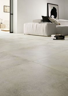 Porcelain stoneware tiles: Light gray: Easy  #light #porcelain #stoneware #tiles