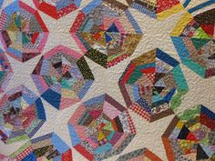 Millie's Quilting: Old Spiderweb Quilt + more