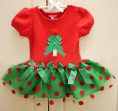 Christmas Dress for Newborn Infant Girls