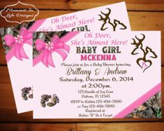 Its a girl camo baby shower invitation etsy listing at httpswww sweet pink camo baby shower by countrydigitaldesign on etsy filmwisefo Gallery