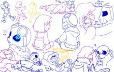AlterTale: TK!Sans. Frisk and Monster Kid by perfectshadow06.deviantart.com on…