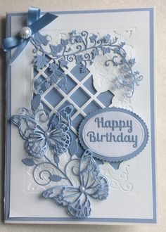 Super Ideas for wedding day cards sue wilson wilson wedding card Super Ideas for wedding day cards sue wilson Tarjetas Stampin Up, Tarjetas Diy, Birthday Cards For Women, Happy Birthday Cards, Diy Birthday, Butterfly Cards, Flower Cards, Wedding Day Cards, Memory Box Cards