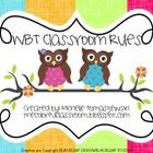 ***Perfect for your Owl-Themed Classroom***With Whole Brain Teaching, students learn