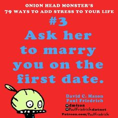 #3 of Onion Head #Monster 'a #book of #stress. #more stress more better for your #heart rate. #sdcc #debut