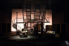 Christopher Acebo's set for the 2013 production of A Streetcar Named Desire at the Oregon Shakespeare Festival.