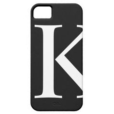 Initial K iPhone 5/4S Barely There Case Iphone 5 Cases $39.95