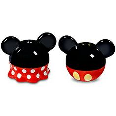 Minnie and Mickey Mouse Salt and Pepper Shakers