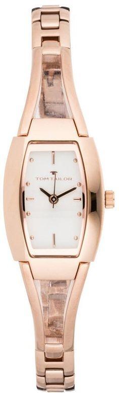 Pin for Later: Heißt den Frühling willkommen mit diesen Kleidern in Pastelltönen  Tom Tailor Uhr in Roségold (80 €)