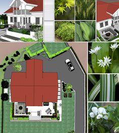 Garden design by Therese Outdoor Rooms, Outdoor Gardens, Outdoor Decor, Scandinavian Garden, Landscape Architecture, Garden Design, Patio, Plants, Landscaping