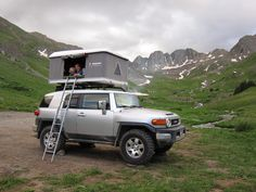 Maggiolina Roof Top Tent - Steve has always wanted an FJ...