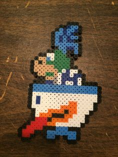 Making all types of bead sprite. Mainly smash brother but can make just about anything. Take a look at our store. http://www.underworldgamezstore.com/