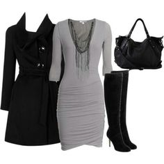 Gloomy Day...but u can still be fly in black and grey! ;-)