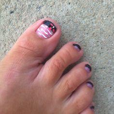 Pedicure Ideas, Pedicure Designs, Manicure Y Pedicure, Mani Pedi, Nail Designs, Toenails, 50 Shades, Claws, Finger