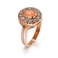 Check out this item in my Etsy shop https://www.etsy.com/listing/523138907/coral-and-rose-cut-diamonds-ring-diana