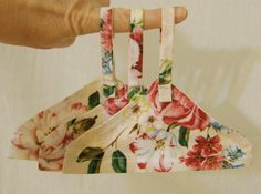 NEW E-Pattern and Tutorial: Gentle Touch Fabric Hangers for Doll Clothes