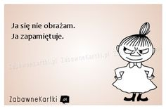 Ja się nie obrażam... Scary Funny, Funny Memes, Jokes, Quotes And Notes, Funny Thoughts, Little My, Study Motivation, Humor, Self Improvement