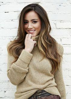 "Chloe Bennett (from ""Marvel, Agents of S.H.I.E.L.D.""). #hair #color"