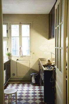 kitchen raw. small kitchen