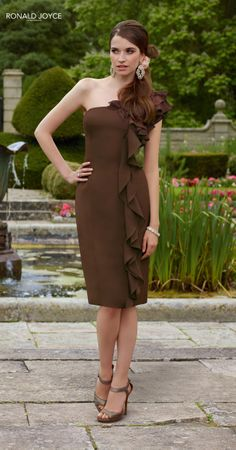 Ronald Joyce bridesmaid dress in a different color
