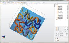 Also new in netfabb 6: Automatic 2D part nesting according to its real geometrical shape.