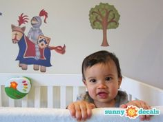 Knight and Dragon Wall Decals - Sunny Decals