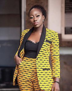 Items similar to African print Ankara suit African wax suit African fashion Afri. - Items similar to African print Ankara suit African wax suit African fashion African wax 2 piece Ank - African Print Pants, African Print Clothing, African Print Dresses, African Dress, African Prints, African Fashion Ankara, Latest African Fashion Dresses, African Print Fashion, African Attire