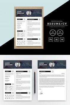 John Glalink Resume Template, #Ad #Glalink #John #Template #Resume