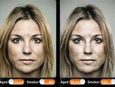 Need motivation to quit smoking? There's an app for that. A new app shows smokers what they will look like in 20 years if they don't stop.