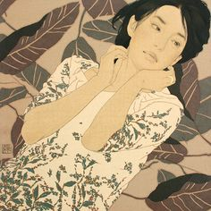 I love the illustration style of Ikenaga Yasunari