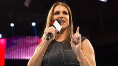 Stephanie McMahon on Vince McMahon hatred of sneezing, WWE GOAT, marrying Triple H Linda Mcmahon, Wwe Stephanie Mcmahon, Wrestling Divas, Wrestling News, Triple H, Champion, Star Wars, Pay Per View, Special Olympics