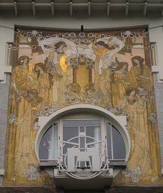 www.italialiberty.it/theworldartnouveau | La Maison Cauchie, Brussels by olrik_1, via Flickr