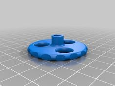 Speed Dial Knob for Ulticontroller by hreese - Thingiverse