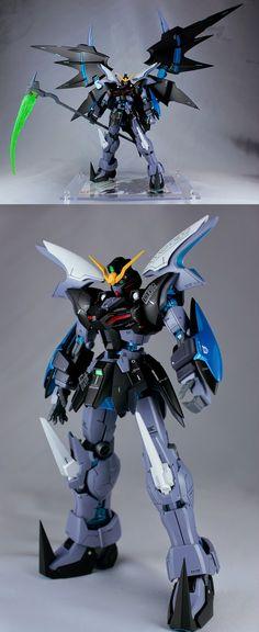 GUNDAM GUY: MG 1/100 Gundam Deathscythe Hell Custom 'Go to Hell' - Customized Build