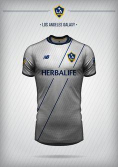Mockups, LA Galaxy, MLS, New Balance