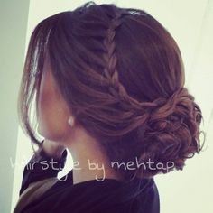Really pretty braid- but would want it half- down