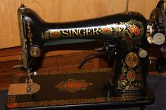 My Sewing Machine Obsession: How to Service and Clean a Singer 66... bobbin case and postion bracket