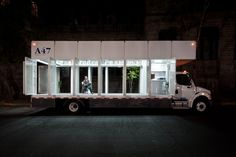 Mobile Art Library, A47 by Productora // Mexico City, 2012