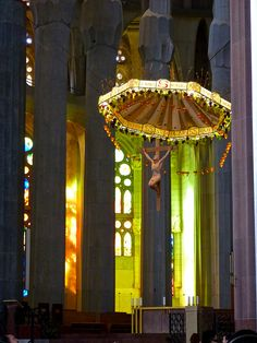 Gaudi's Sagrada Familia - Altar, Barcelona