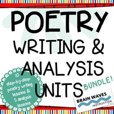 3 Weeks of Engaging and Educational Poetry Lessons!