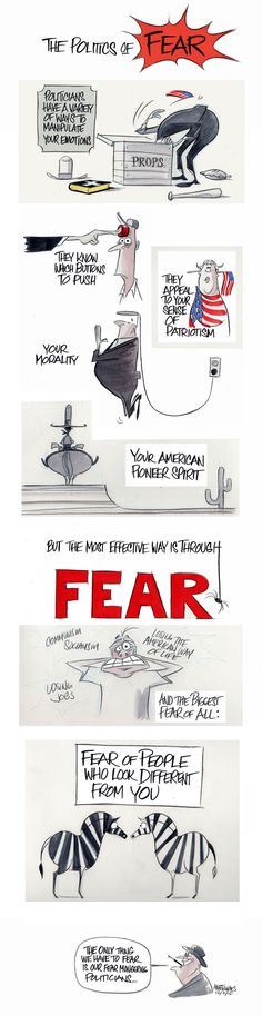 The only thing we have to fear is our fear-mongering politicians - The Washington Post
