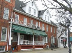Holly Hotel, Michigan: The kitchen is haunted by a little girl who died while staying at the hotel. The ghost is the most active in the hotel. People often hear her messing around with the various utensils in the kitchen, but especially the meat cleaver. In addition to haunting the kitchen, she is often heard running up and down the halls.