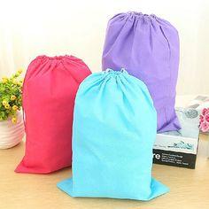 New arrival Laundry Shoe Travel Pouch Portable Tote Drawstring Storage Bag Organizer AC2U #Affiliate