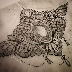 1000 ideas about Vintage Lace Tattoo on Pinterest   Lace Tattoo ...