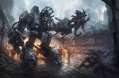 Blizzardfest  SCV Unit Digital Art Drawings Fan Art Games Robots Starcraft