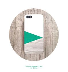 PANTONE Green iPhone Case Spring Color, Geometric iPhone 4 Case Green iphone 5 Case iPhone 5s Case Galaxy S4 Case CSERA Economy Line